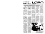 New Mexico Lobo, Volume 072, No 23, 10/15/1968 by University of New Mexico