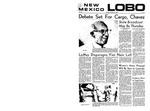 New Mexico Lobo, Volume 072, No 28, 10/22/1968 by University of New Mexico