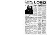 New Mexico Lobo, Volume 072, No 60, 12/11/1968