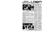 New Mexico Lobo, Volume 072, No 87, 2/27/1969