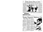 New Mexico Lobo, Volume 072, No 102, 3/20/1969