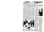 New Mexico Lobo, Volume 072, No 143, 6/20/1969