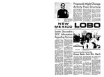 New Mexico Lobo, Volume 073, No 20, 10/9/1969 by University of New Mexico