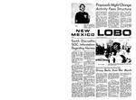 New Mexico Lobo, Volume 073, No 20, 10/9/1969