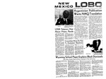 New Mexico Lobo, Volume 073, No 31, 10/29/1969