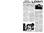 New Mexico Lobo, Volume 073, No 32, 10/30/1969