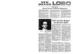 New Mexico Lobo, Volume 073, No 71, 1/9/1970