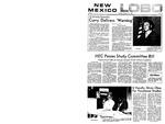 New Mexico Lobo, Volume 073, No 78, 2/12/1970 by University of New Mexico