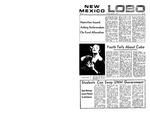 New Mexico Lobo, Volume 073, No 95, 3/9/1970 by University of New Mexico