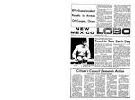 New Mexico Lobo, Volume 073, No 97, 3/11/1970 by University of New Mexico
