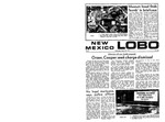 New Mexico Lobo, Volume 073, No 102, 3/18/1970 by University of New Mexico