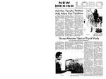 New Mexico Lobo, Volume 073, No 148, 7/23/1970 by University of New Mexico