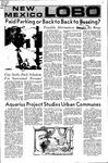 New Mexico Lobo, Volume 075, No 3, 8/31/1971