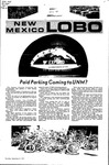 New Mexico Lobo, Volume 075, No 5, 9/2/1971