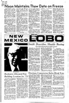 New Mexico Lobo, Volume 075, No 10, 9/10/1971 by University of New Mexico