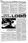 New Mexico Lobo, Volume 075, No 12, 9/14/1971 by University of New Mexico