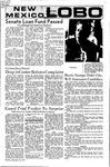 New Mexico Lobo, Volume 075, No 19, 9/23/1971
