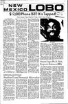 New Mexico Lobo, Volume 075, No 29, 10/7/1971