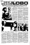 New Mexico Lobo, Volume 075, No 30, 10/8/1971