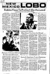 New Mexico Lobo, Volume 075, No 31, 10/11/1971