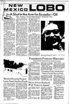 New Mexico Lobo, Volume 075, No 35, 10/15/1971