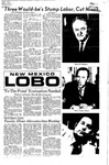 New Mexico Lobo, Volume 075, No 36, 10/18/1971