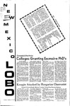 New Mexico Lobo, Volume 075, No 37, 10/19/1971
