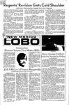 New Mexico Lobo, Volume 075, No 45, 10/29/1971