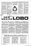 New Mexico Lobo, Volume 075, No 49, 11/4/1971