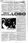 New Mexico Lobo, Volume 075, No 56, 11/15/1971