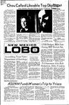 New Mexico Lobo, Volume 075, No 60, 11/19/1971