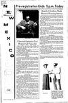 New Mexico Lobo, Volume 075, No 62, 11/23/1971