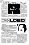 New Mexico Daily Lobo, Volume 075, No 65, 11/30/1971 by University of New Mexico