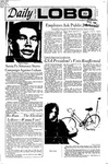 New Mexico Daily Lobo, Volume 075, No 67, 12/2/1971 by University of New Mexico