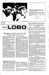 New Mexico Daily Lobo, Volume 075, No 68, 12/3/1971 by University of New Mexico