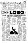 New Mexico Daily Lobo, Volume 075, No 70, 12/7/1971 by University of New Mexico