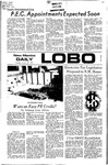 New Mexico Daily Lobo, Volume 075, No 74, 1/25/1972 by University of New Mexico