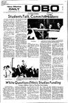New Mexico Daily Lobo, Volume 075, No 76, 1/27/1972 by University of New Mexico