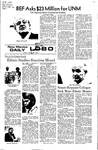 New Mexico Daily Lobo, Volume 075, No 77, 1/28/1972 by University of New Mexico