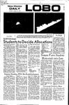 New Mexico Daily Lobo, Volume 075, No 78, 1/31/1972 by University of New Mexico