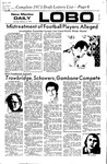 New Mexico Daily Lobo, Volume 075, No 81, 2/3/1972 by University of New Mexico