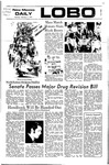 New Mexico Daily Lobo, Volume 075, No 83, 2/7/1972 by University of New Mexico