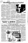 New Mexico Daily Lobo, Volume 075, No 85, 2/9/1972 by University of New Mexico