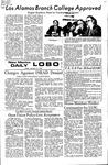 New Mexico Daily Lobo, Volume 075, No 87, 2/11/1972