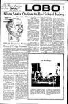 New Mexico Daily Lobo, Volume 075, No 89, 2/15/1972 by University of New Mexico