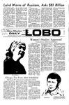 New Mexico Daily Lobo, Volume 075, No 90, 2/16/1972