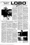 New Mexico Daily Lobo, Volume 075, No 91, 2/17/1972 by University of New Mexico