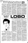 New Mexico Daily Lobo, Volume 075, No 92, 2/18/1972 by University of New Mexico