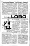 New Mexico Daily Lobo, Volume 075, No 93, 2/21/1972 by University of New Mexico