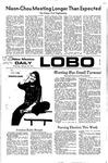 New Mexico Daily Lobo, Volume 075, No 95, 2/23/1972 by University of New Mexico